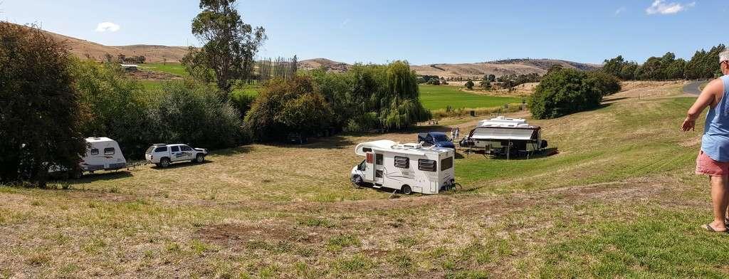 Free Camps In Tasmania Hamilton Campground Tasmania caravans