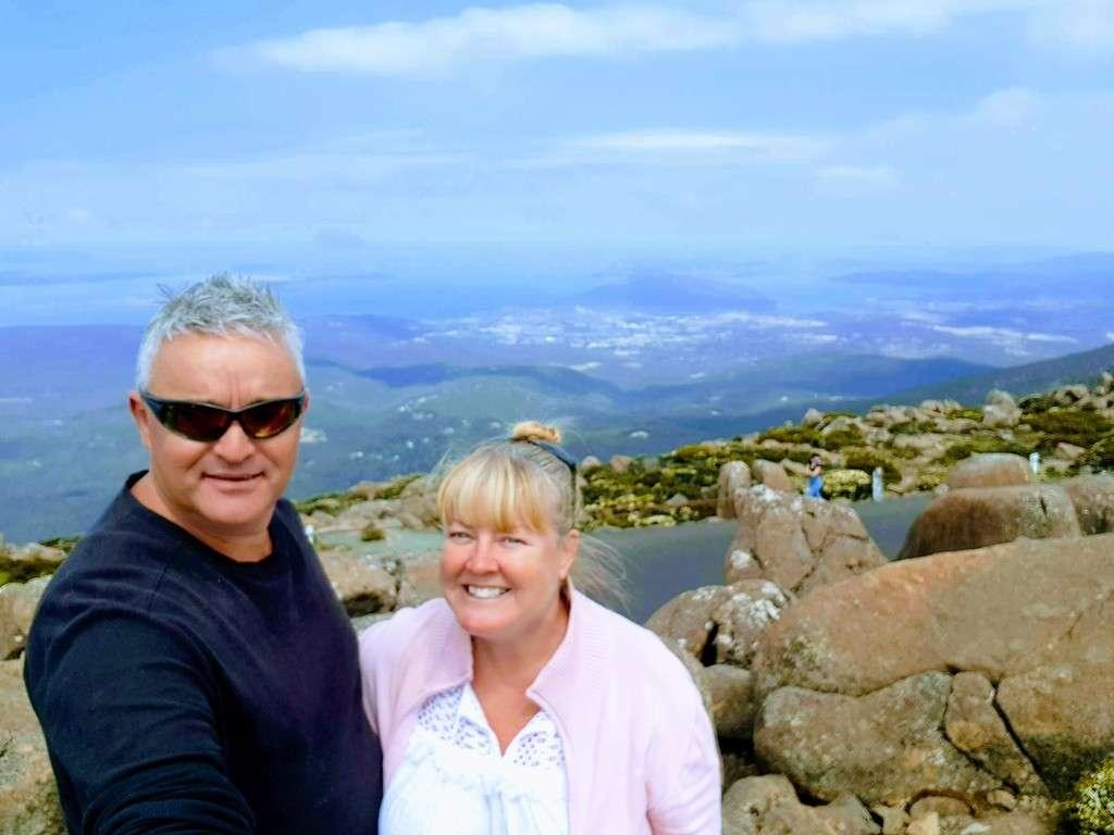 Mt wellington Hobart Tasmania