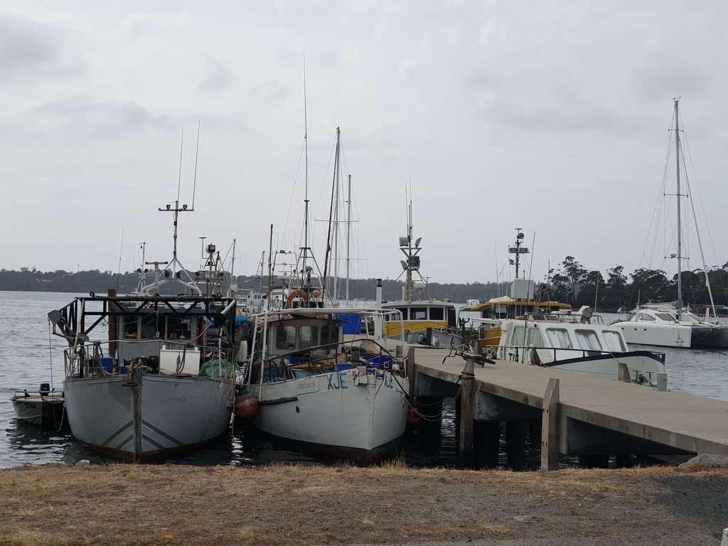 St Helens Tasmania boats