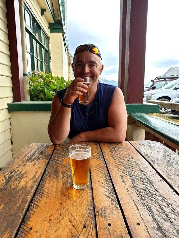 Pub In The Paddock Pyengana drinking beer
