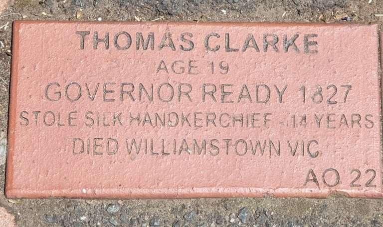 Campbell town Tasmania convict brick