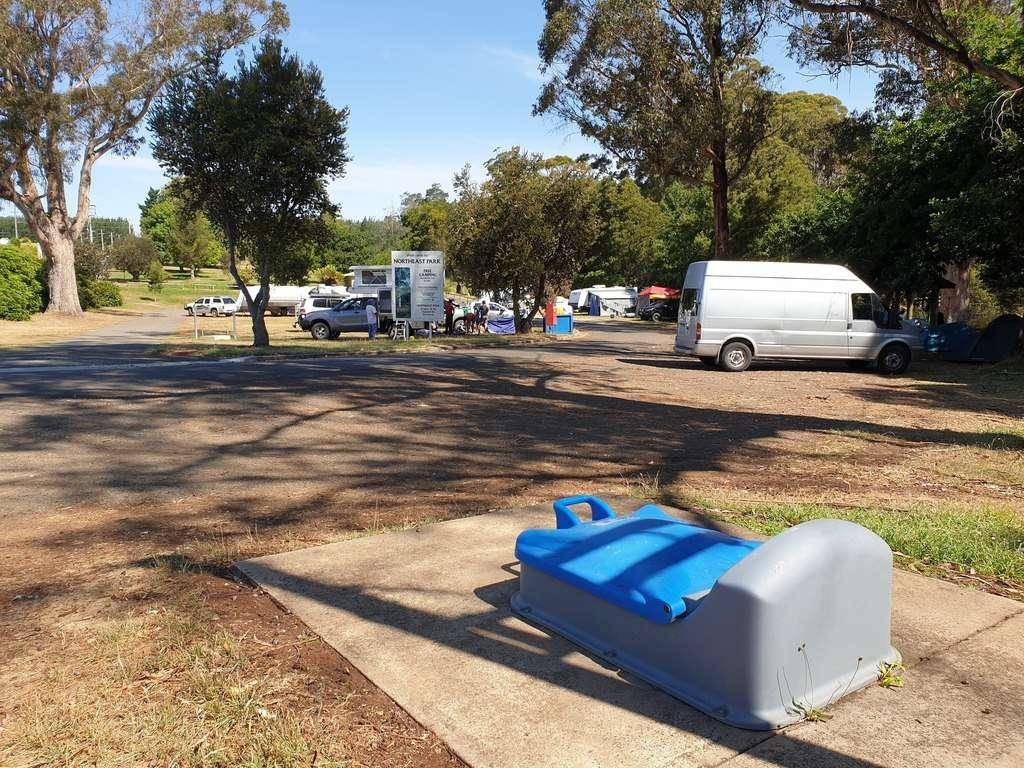 Dump Point  at Scottsdale Northeast Park Tasmania