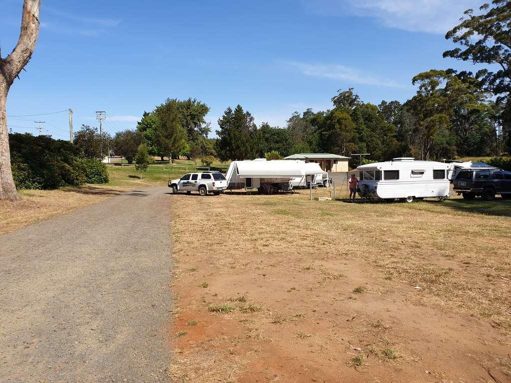 Camping at Scottsdale Northeast Park Tasmania