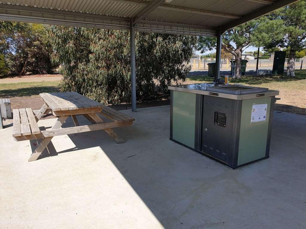 Sorell RV Stop Over BBQ area Tasmania