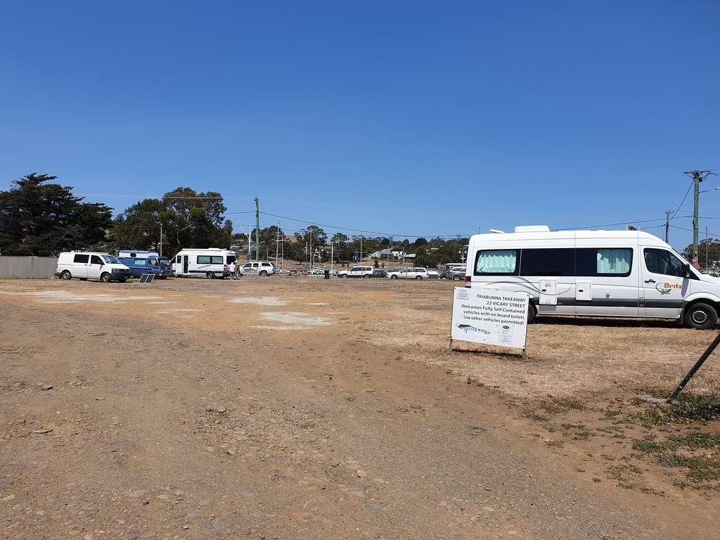 Camp Triabunna   Tasmania