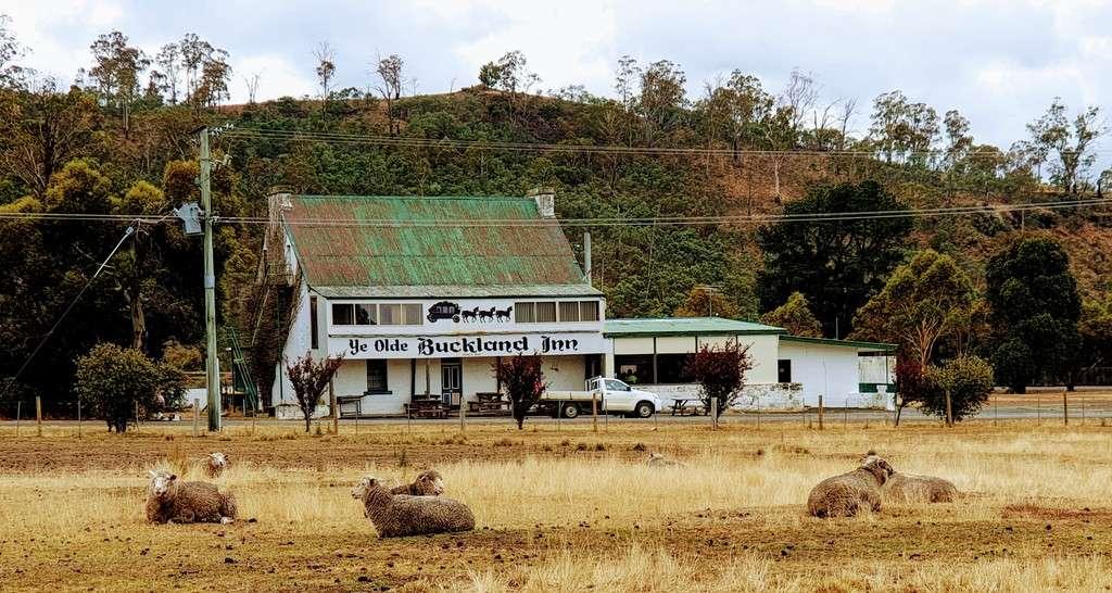 Free Camps In Tasmania Ye Olde Buckland Inn Tasmania