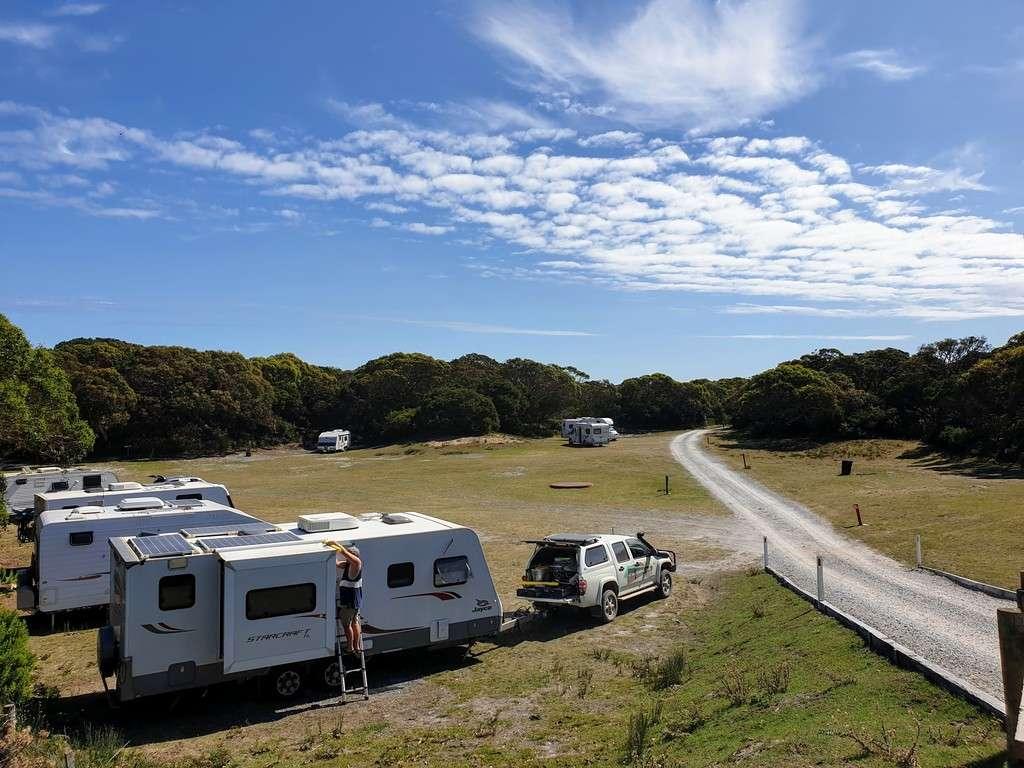 Free Camps In Tasmania Manuka campground Arthur River Tasmania