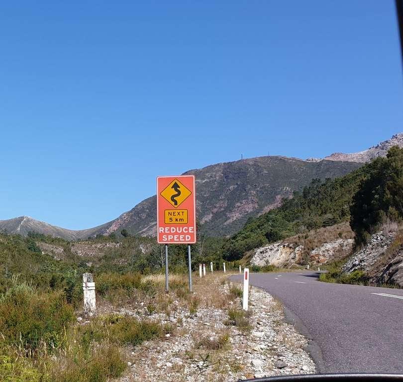 Tassie Mountain roads