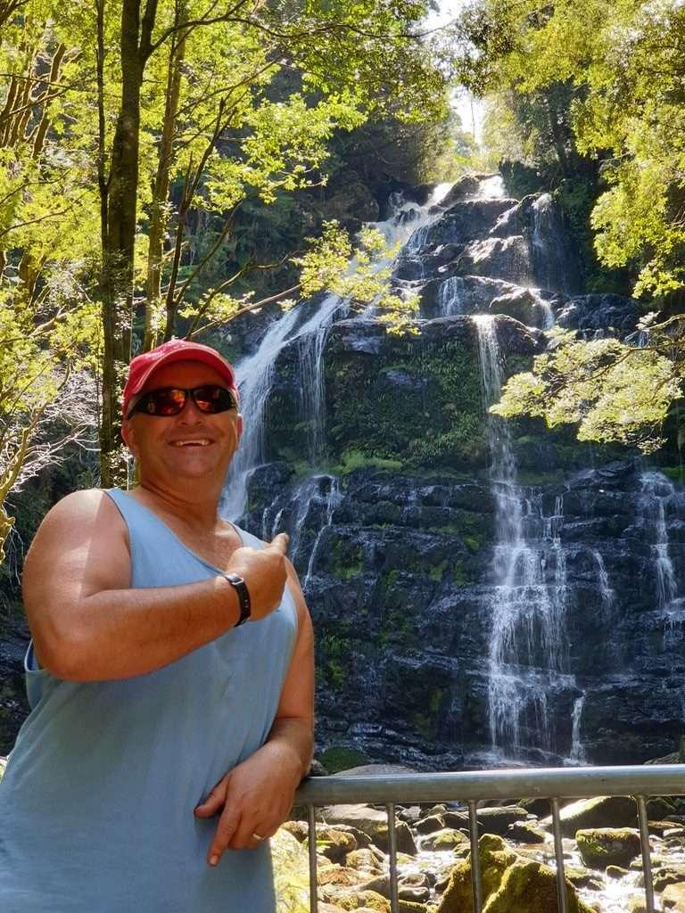 Hogarth Falls Strahen Tasmania