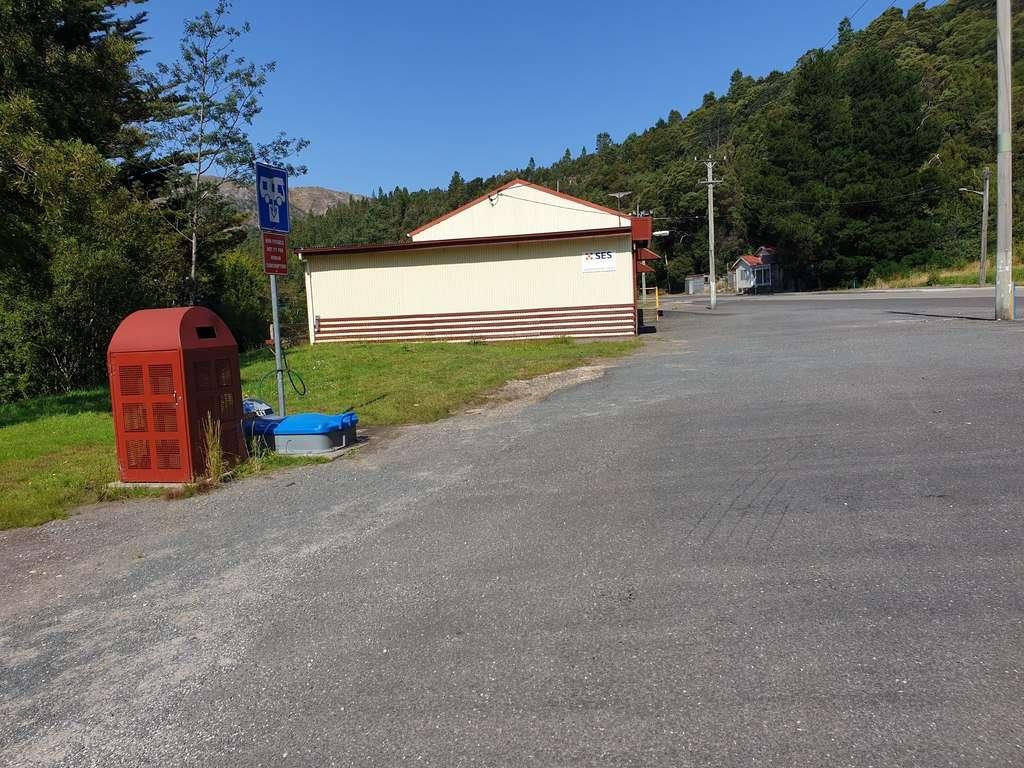 Queenstown Sports Ground Tasmania dump point