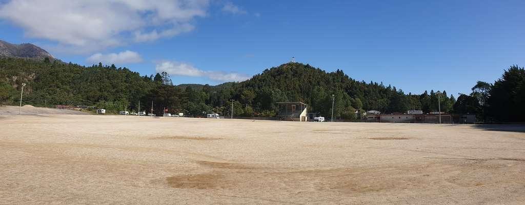 Queenstown Sports Ground Tasmania Camping