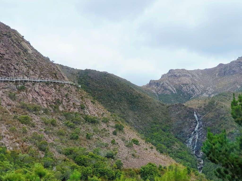 Horsetail falls Queenstown Tasmania