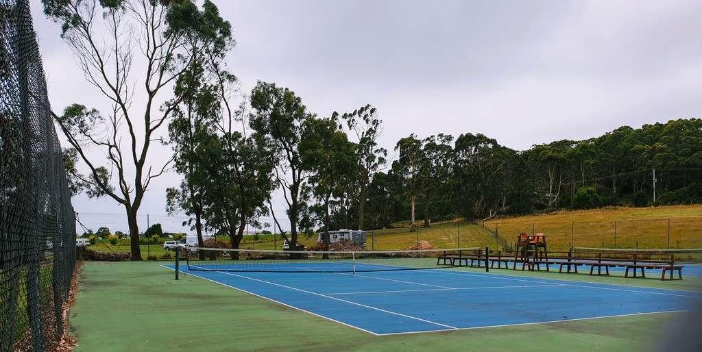 Tall timbers Smithton Tasmania tennis court