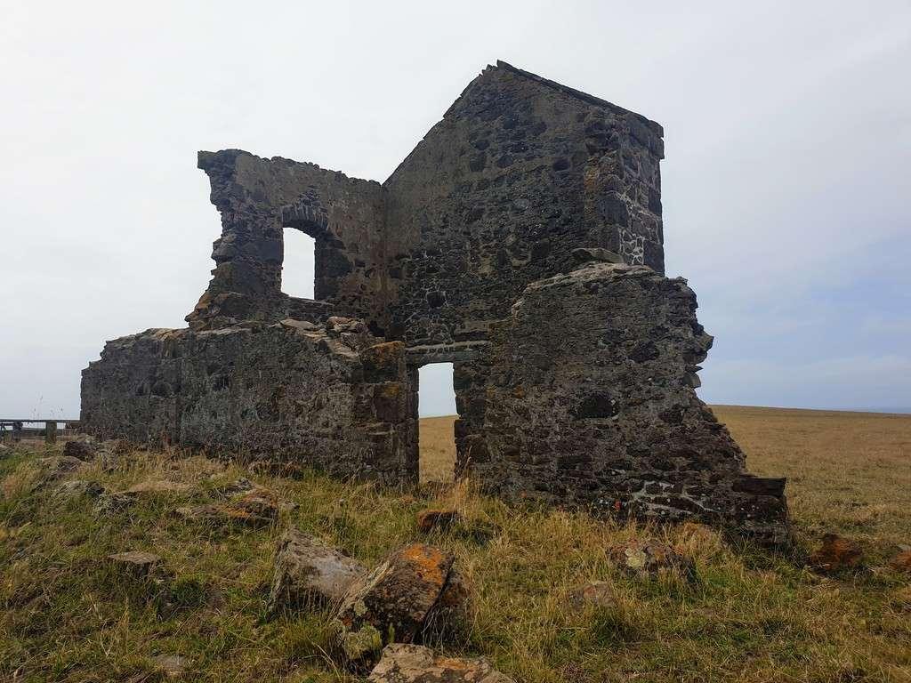Historic convict ruins Stanley Tasmania