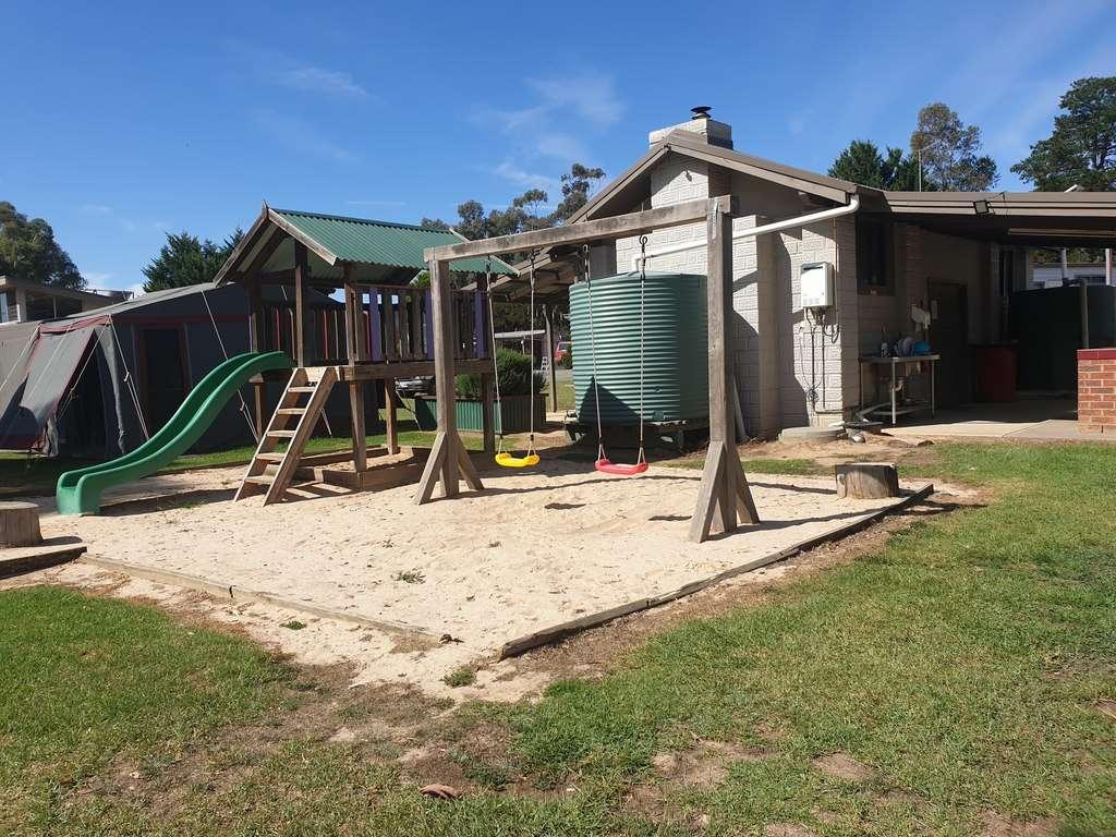 Avoca Caravan Park Victoria playground