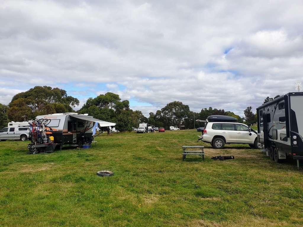 Haddon lions park Victoria camping