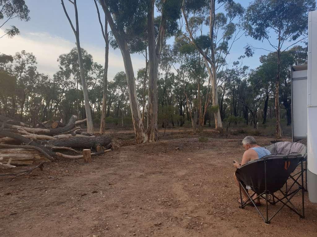 camping Tarnagulla Recreation Reserve Victoria
