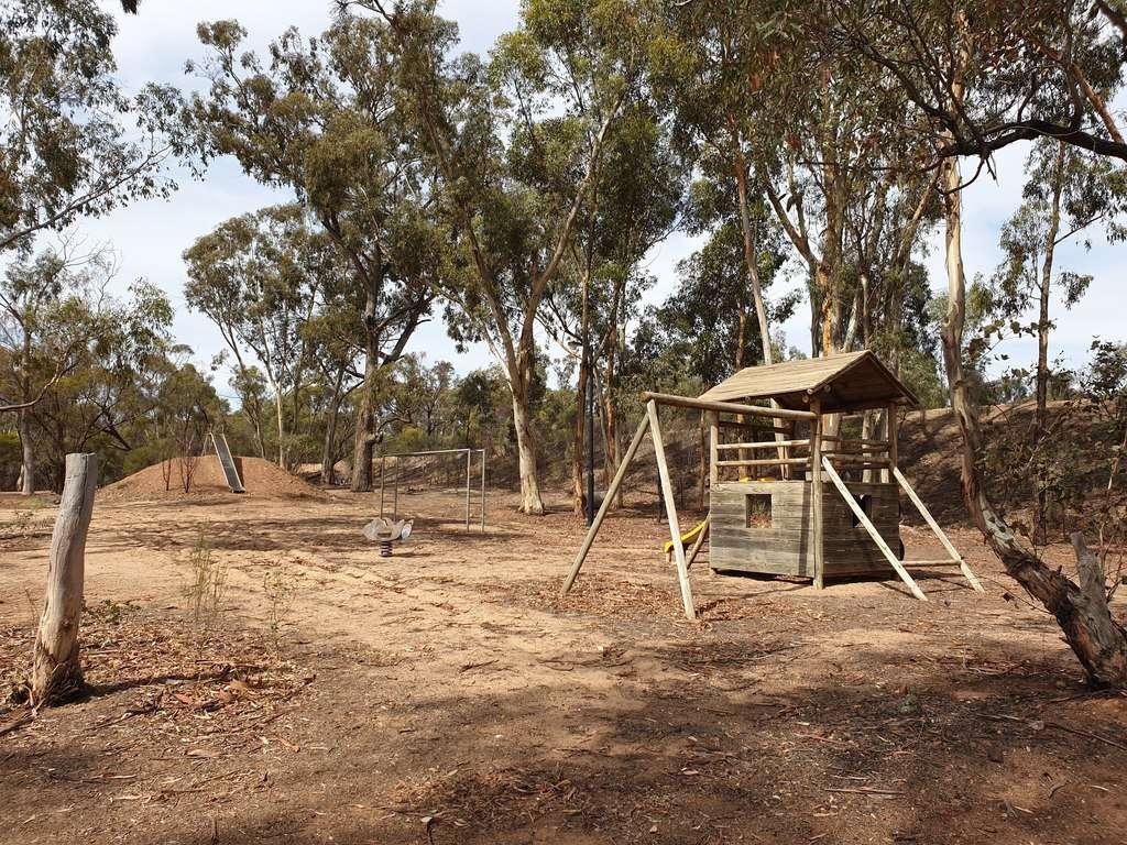playground camp Tarnagulla Recreation Reserve Victoria