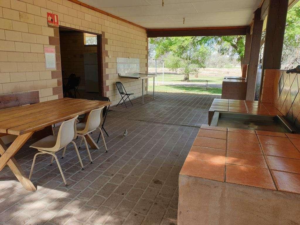 camp BBQ area
