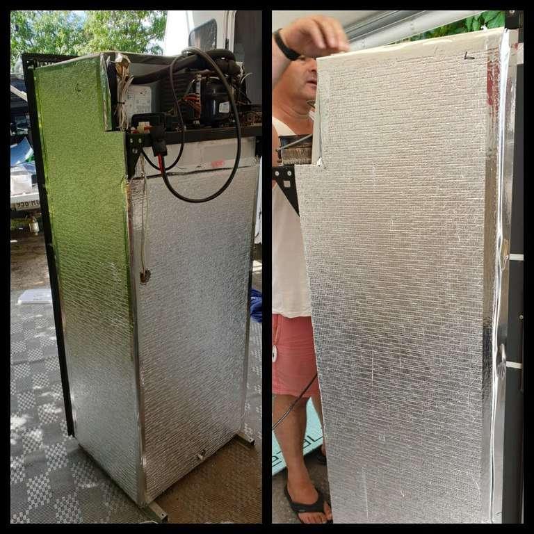 caravan fridge repair insulation