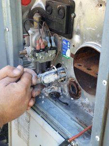 caravan hot water system hot water element