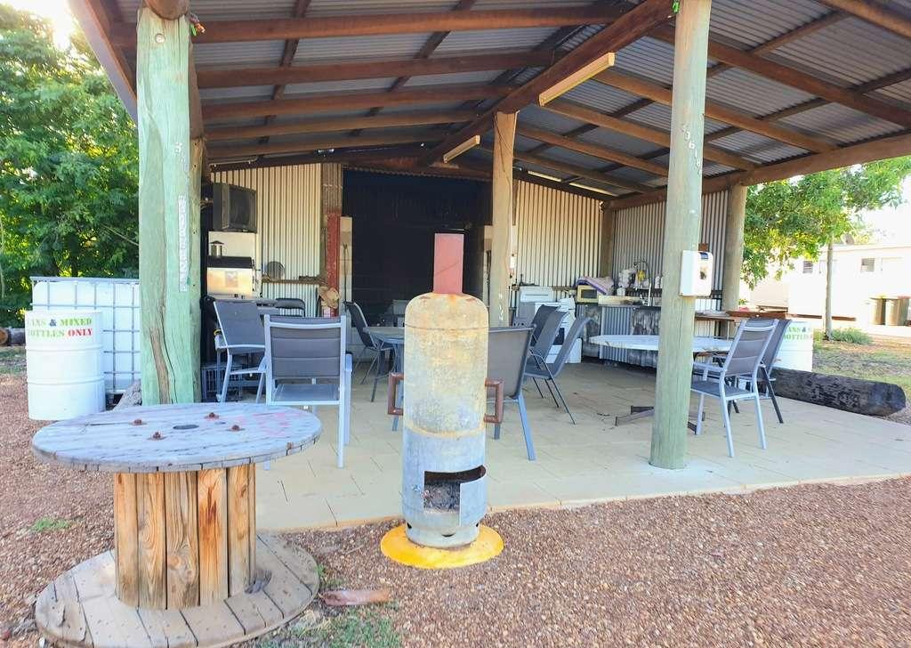 Dirranbandi Retreat and Caravan Park QLD camp kitchen