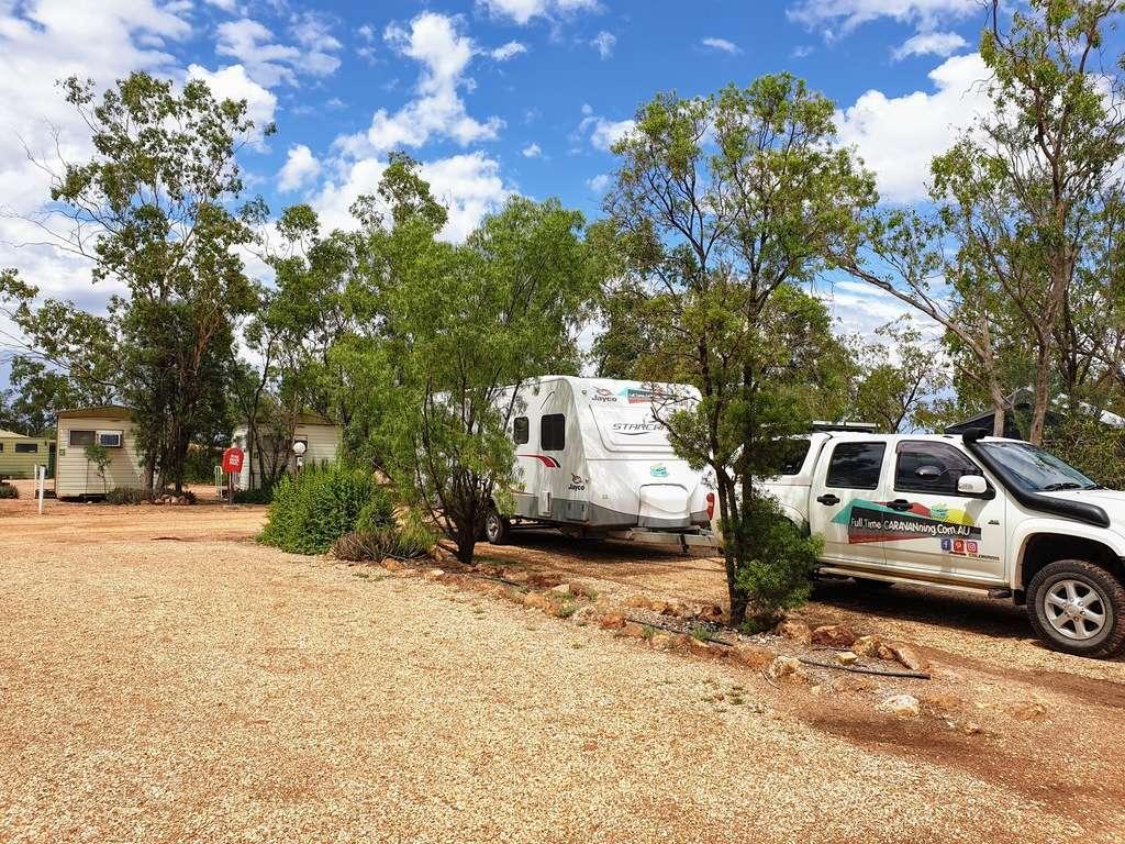 Lightning ridge caravan park NSW