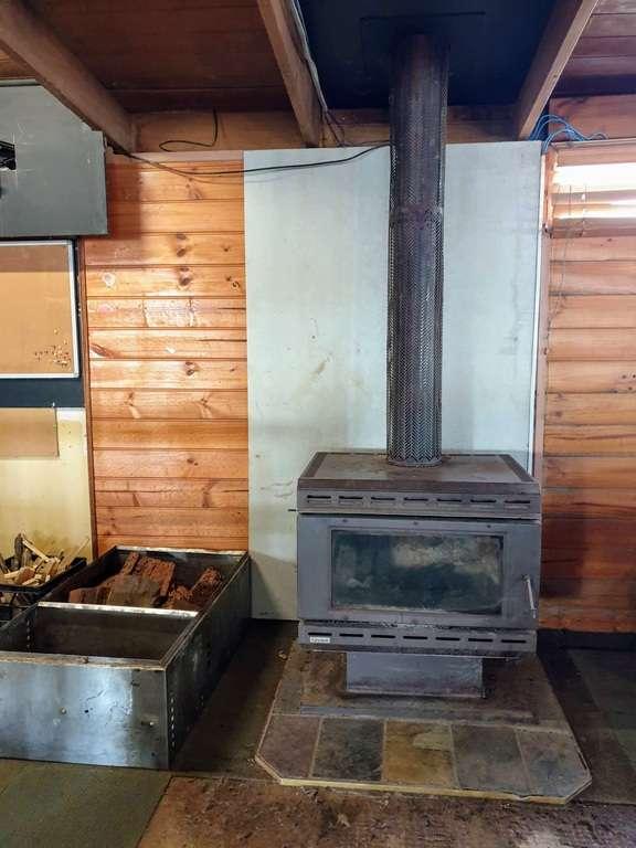 fireplace at the bar in lightning ridge