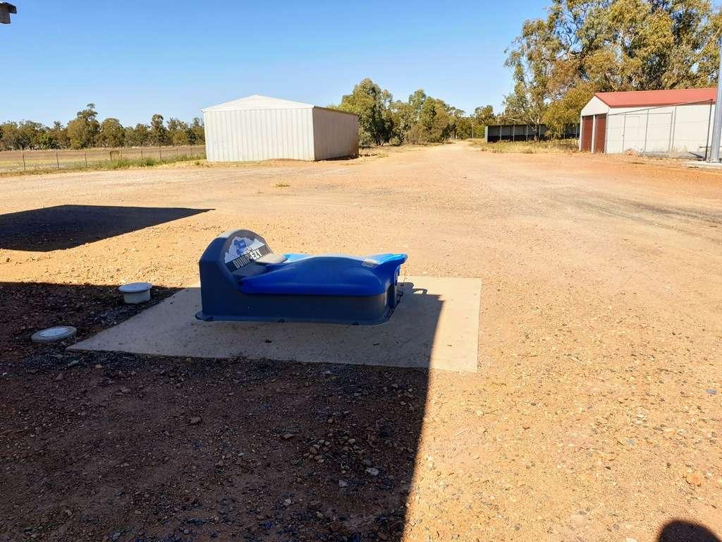 Ungarie Showground NSW dump point caravan camping RV
