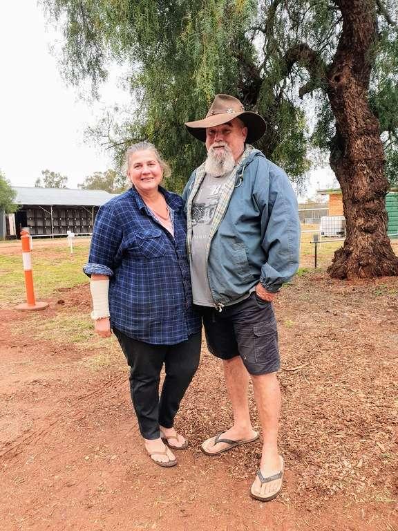 Barellan showground New South Wales Caretakers