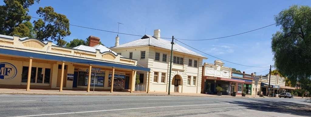 Barellan shops main street New south wales