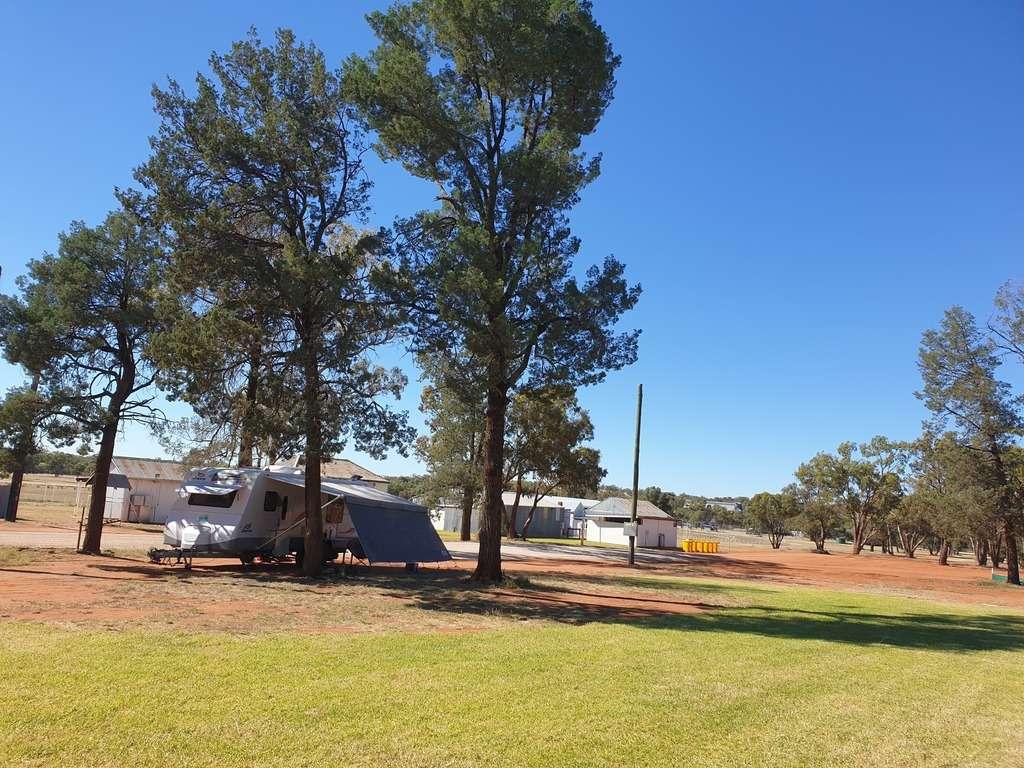 weethalle showground camp