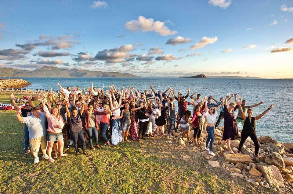 Hayman Island Staff. work as you travel.