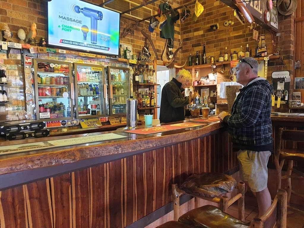 Mulga Creek Hotel Pub bar